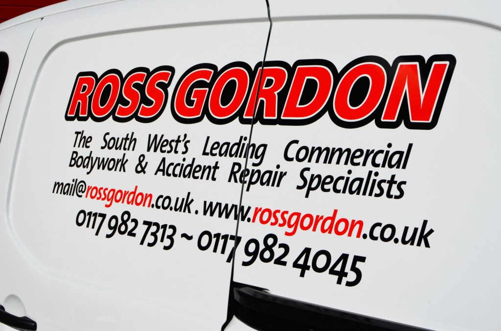 Ross Gordon Van Decals